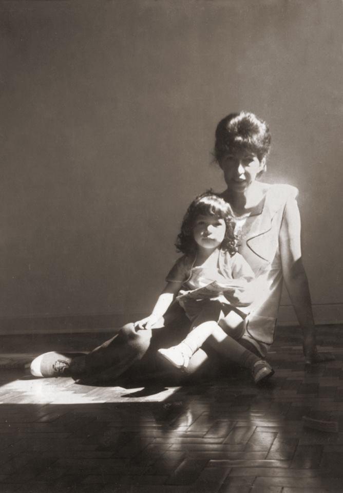 Tania y su madre, María