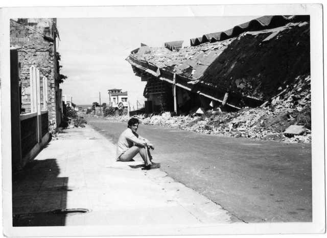 Managua en el terremoto de 23 de Diciembre de 1972